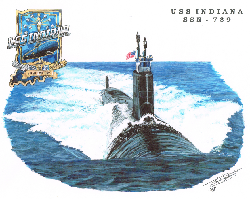 USS INDIANA SSN-789