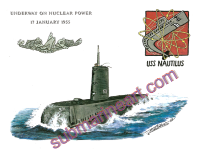 USS Nautilus (SSN 571) - Underway on Nuclear Power