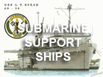 Submarine Support Ships
